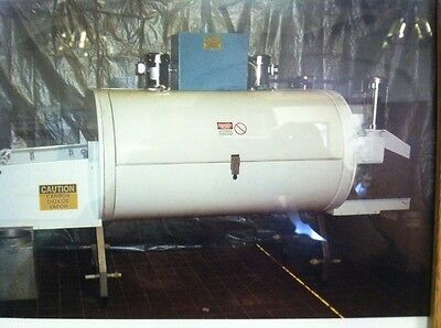 "Cryogenic tunnel freezer 1 module 3 tier, Ln2 Nitrogen/CO2,refurbished 48"" belt"