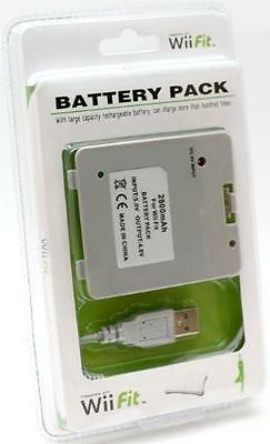 Wii Fit Battery Pack Per Balance Board Batteria Ricaricabile Nuovo
