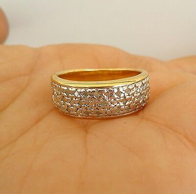 BEWARE! VIOLENT, ACTIVE Haunted Genuine Diamond 18K Gold Wedding Ring Size 7