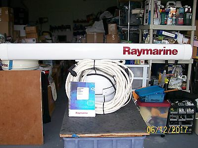 """Raymarine Pathfinder 4Kw Open Array, 48"""" Scan 15M Interconnect Cable And Manual."""