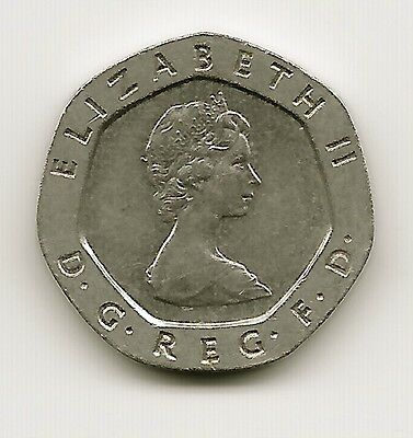 World Coins - United Kingdom 20 Pence 1982 Coin KM# 931