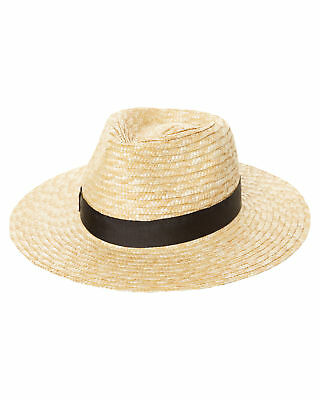 New Lack Of Color Women's The Spencer Fedora Hat Natural