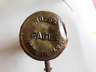 Vintage EAGLE No. 66 Brass Pump Type Oil Can