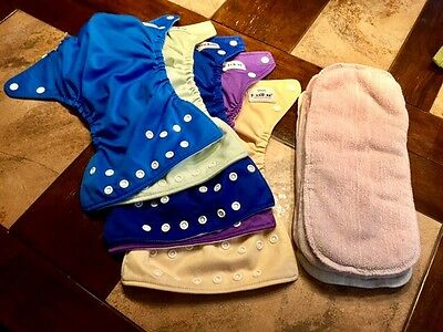 Fuzzibunz Reusable Diapers With Liners