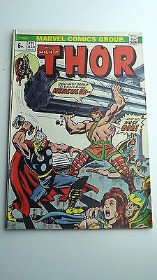 Marvel The Mighty Thor Comic #221 Mar 1974