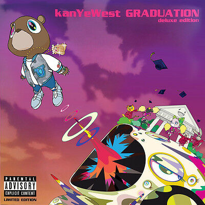 "Kanye West "" Graduation "" New *** Coloured Vinyl Lp ***"
