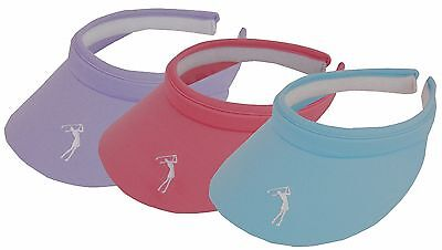Ladies Golf Visors by Mercia Golf