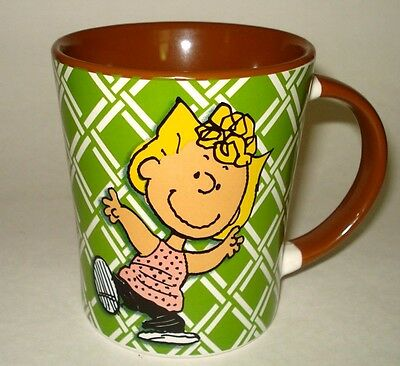 NEW Peanuts Character SALLY Oversized 15 oz CERAMIC COFFEE MUG TEA CUP Gibson
