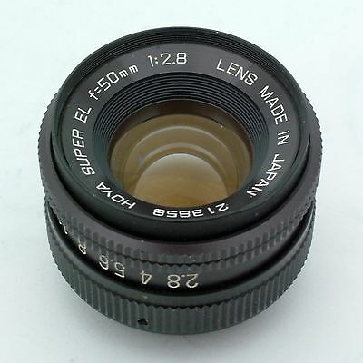 Hoya Super EL 50mm f2.8 enlarging lens, excellent + condition