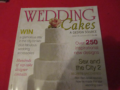 3 x Magazines. Wedding Cakes A Design Source.  Issues 36-37-38. Cake-Bake-Cook.