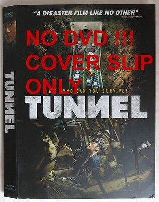 No Discs !! Tunnel Dvd Cover Slip Only - No Discs !!        (Inv13611)