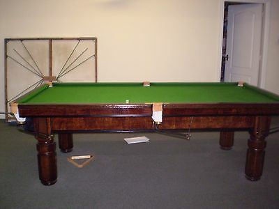 Snooker / Billiard 3/4 Table and cue set