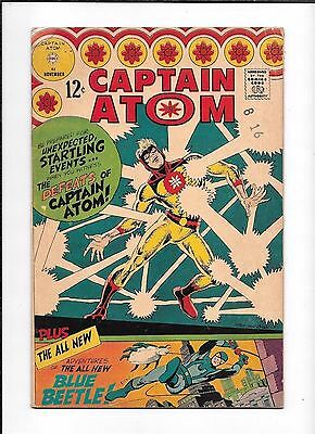Captain Atom #83 ==> Fn- 1St Appearance Blue Beetle  (Ted Kord) Charlton 1966