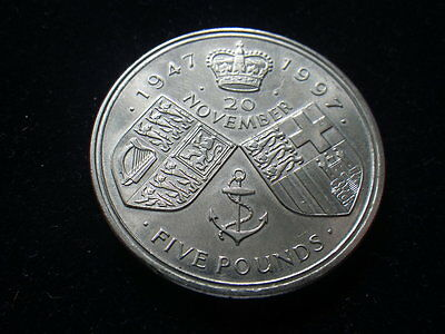 .. Great Britain 1997  5 Pounds (EF)