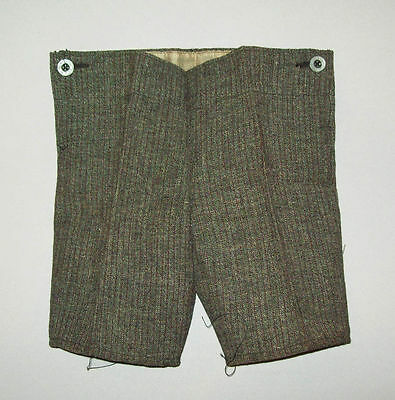 "Scarce antique vtg 1920s SHORT PANTS KNICKERS deadstock 21"" waist pin stripe"