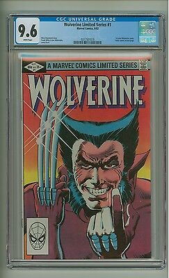 Wolverine Limited Series #1 (CGC 9.6) White pages; 1st solo Wolverine (c#14379)
