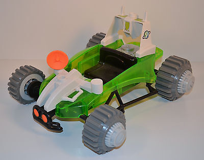 """2007 Earth Ace 12.5"""" Moon Buggy Car Planet Heroes Action Figure Vehicle"""