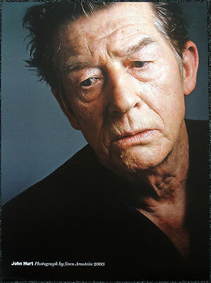 John Hurt Poster Page 2003. Alien Harry Potter The Elephant Man Doctor Who . R92
