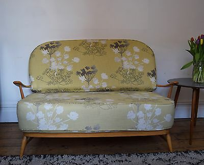 Ercol Beech Wood Blond Finish Windsor Sofa / Daybed / Mid Century Design,Danish