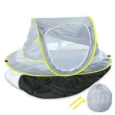 Large Baby Portable Beach Tent Provide UPF Sun Bed Sleeping Pad Cooling Mat NEW