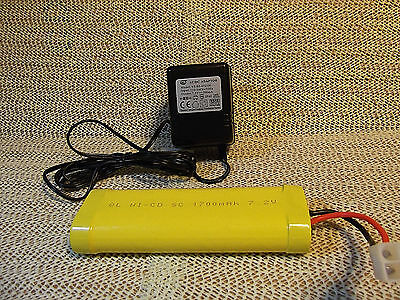 Heng Long 7.2v Battery & Charger many other uses,..boats cars..