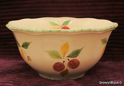 MARKS AND SPENCERS - Damson Footed Salad Bowl Or Pastry Mixing Bowl
