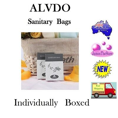 Alvdo Sanitary Bags Travel Size Individually Boxed Guest Hotel Motel Amenities