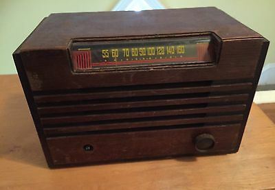 Vintage Lindsay Airline AC-DC, Operated Receiver