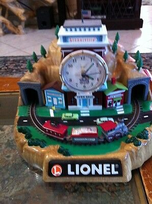Lionel 100th Anniversary Train Alarm Clock WSounds And Whisle Limited Ed.