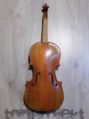 PROJECT old european 4/4 VIOLIN fiddle 小提琴 Geige バイオリン violon ! NO RESERVE !