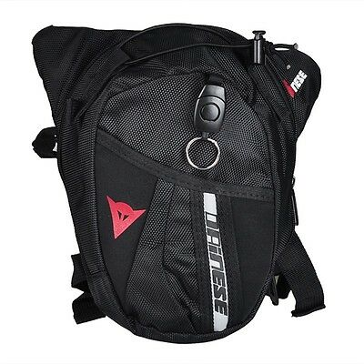DAINESE MOTORCYCLE Drop Leg Motorcycle Cycling Fanny Pack Waist Belt Bag