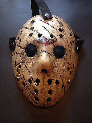 Custom Jason Vorhees Friday The 13th Type Mask Prop Horror Cosplay Costume