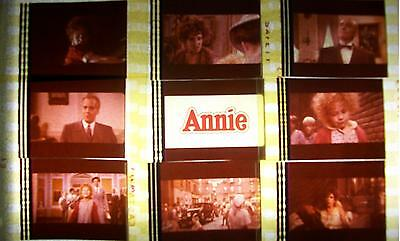 ANNIE Carol BurnettFilm Cell Lot of 12 - collectible compliments movie dvd book