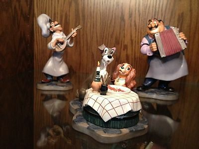 Disney Collector Society - Classics Figurines - Lady and the Tramp SET