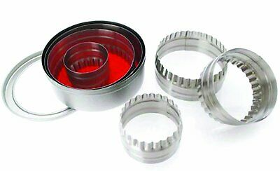 Hillys Kitchen 6-Piece SS Pastry Cutter
