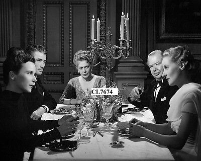 Gregory Peck, Ethel Barrymore, Ann Todd in the Movie 'The Paradine Case' Photo