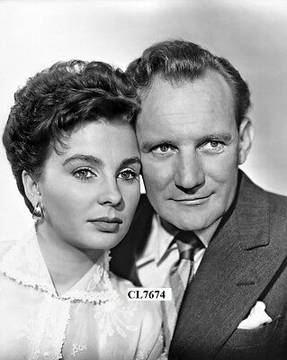 Jean Simmons and Trevor Howard in the Movie ' The Clouded Yellow' Photo
