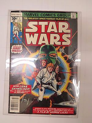 star wars 1977 MARVEL #1 very good C7.5  plus 2 giant sized annuals  #1  #2 C7+
