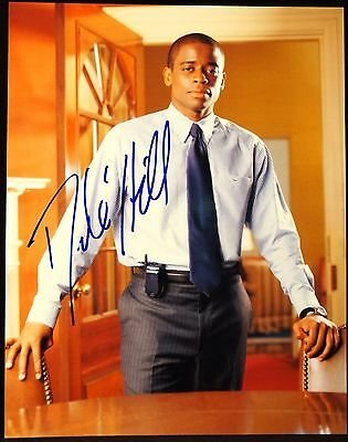 DULE HILL The West Wing  Autographed Signed 8 x 10 Photo Guaranteed Authentic !