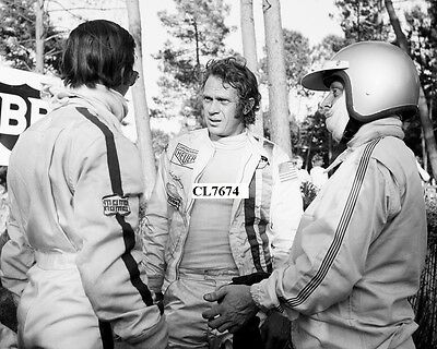 Steve McQueen on the Movie Set of 'Le Mans' Photo