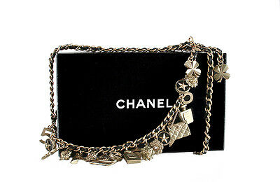 Chanel Vintage Charms Necklace Belt Icons Rare 1994
