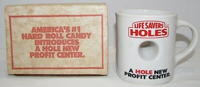 Life Savers Holes Promotional Mug, only given to retailers