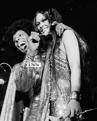 Sly Stone of Sly and the Family Stone and Kathy Silva Wedding on Concert Photo