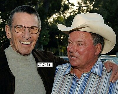 """Leonard Nimoy and William Shatner at the """"Hollywood Charity Horse Show"""" Photo"""