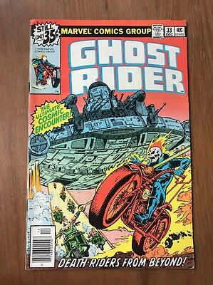 Ghost Rider #33 1978 ~ Death-Riders From Beyond ~ Nm