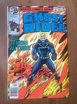 Ghost Rider #34 1979 ~ The Demon Within! ~ NM