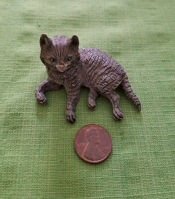 Cold Painted Vienna Bronze Cat with Fine Details Austrian