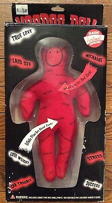 VooDoo Doll Accoutrements Classic Novelties Therapy Stress Relief Witch Doctor