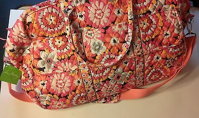 NWT Vera Bradley Grand Traveler Pixie Blooms Travel Carry On Bag Overnight Tote