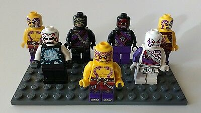 Lego minifigures lot Gods & Tribal Warriors